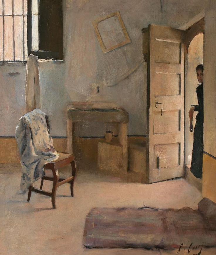 Ramon Casas i Carbó / Una casa desordenada, 1890