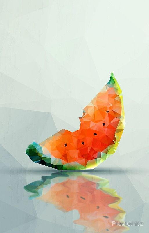 Abstract Poly Watermelon