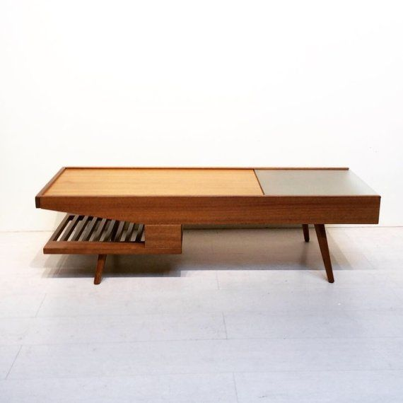 Mid Century Modern Coffee Table By John Keal For Brown Saltman Etsy
