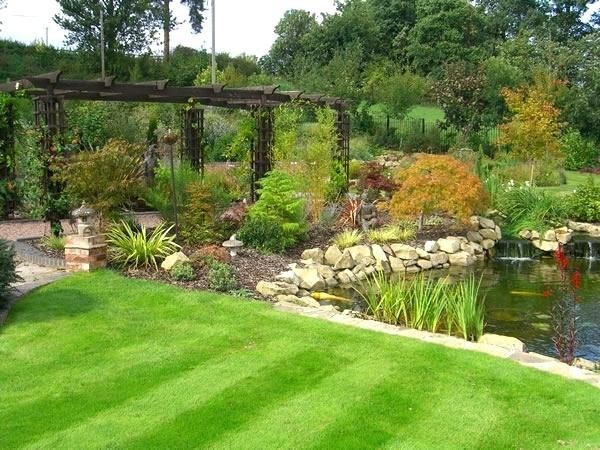 Beautiful Garden Design Ideas Large Gardens Hawk Haven Garden Ideas Large Front Garden Design Garden Design