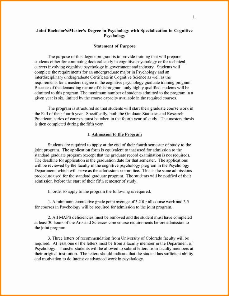 Graduate School Personal Statement Template Beautiful 5
