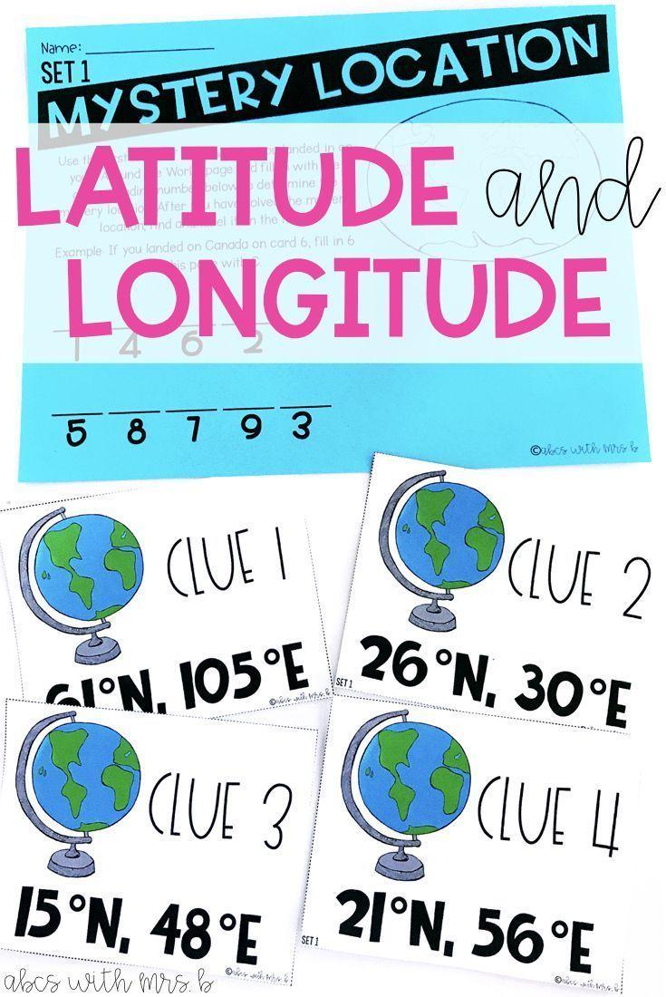 Workbooks longitude and latitude worksheets 6th grade : 107 best Latitude/Longitude images on Pinterest | The universe ...
