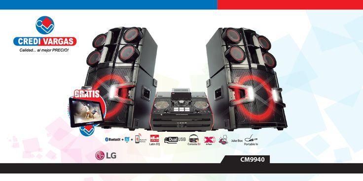 Descubre el nuevo equipo de sonido X-Boom DJ Pro LG CM9940 te ofrece una experiencia de conectividad y calidad de sonido para que disfrutes tu música con el sonido que quieres.
