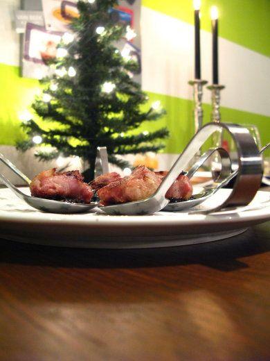 Heerlijke smaaksensatie !   Een amuse is altijd leuk om met kerst vooraf te serveren, helemaal deze! Er staan veel amuses en borrelhapjes o...
