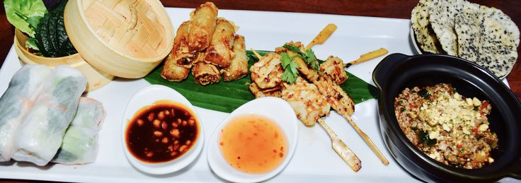 Vietnamese sharing platter