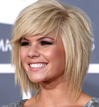 Great razored bob style.
