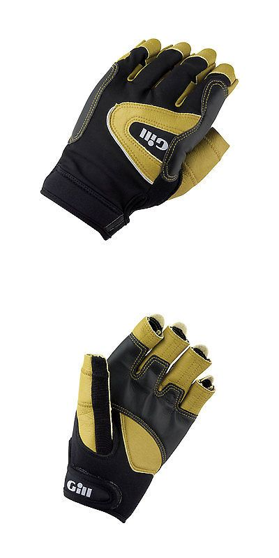 Other Fins Footwear and Gloves 159147: Gill Pro Short Finger Sailing Gloves - Black Grey -> BUY IT NOW ONLY: $37.72 on eBay!