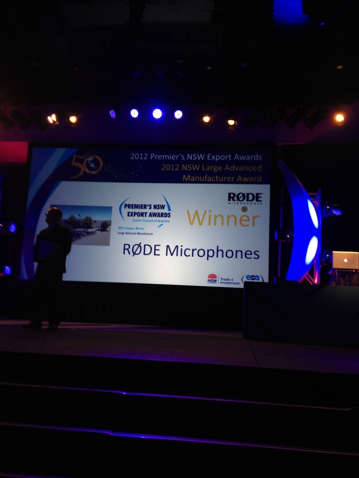 Rode Microphone - Large Advanced Manufacturer