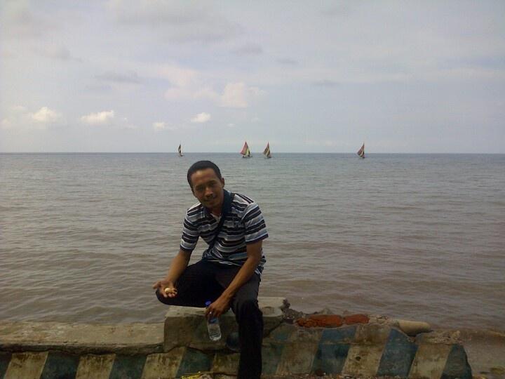 White sand beach @ situbondo - east java - Indonesia.