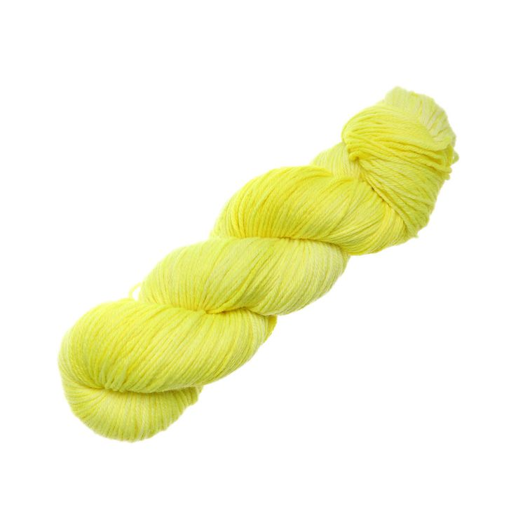 Hand Dyed by Kate - Sport - Yarn Lovers Neon Lights Yellow