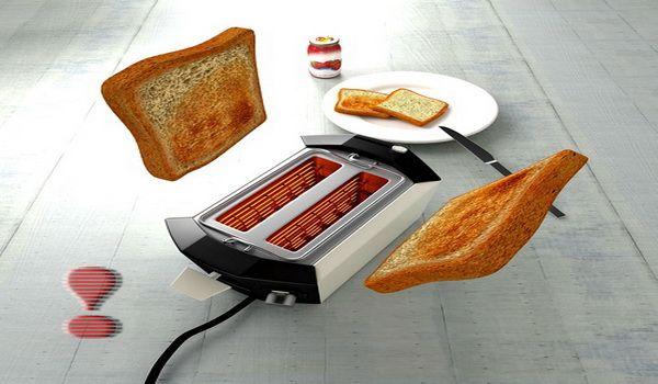 Отключайте тостер от сети