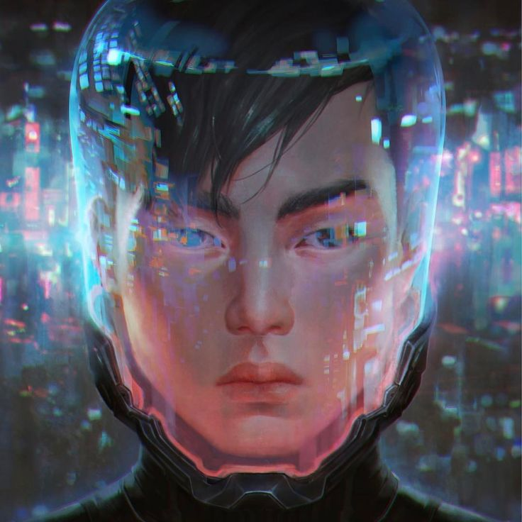 "Dystopian cyberpunk Taiwan, anyone? Book cover for ""WANT"", written by @cindyponauthor #cyberpunk #asian"