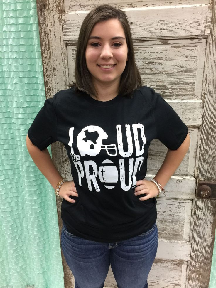 Loud & Proud Football T-Shirt