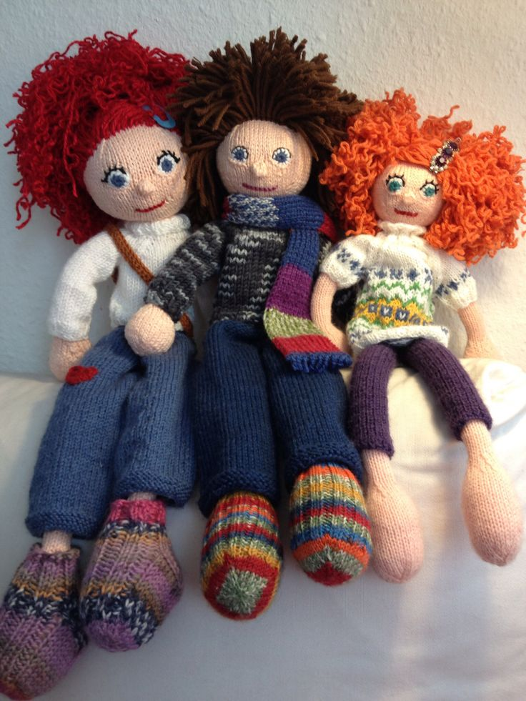 Knitting Clothes For Dolls : Best images about knitted dolls by arne carlos on