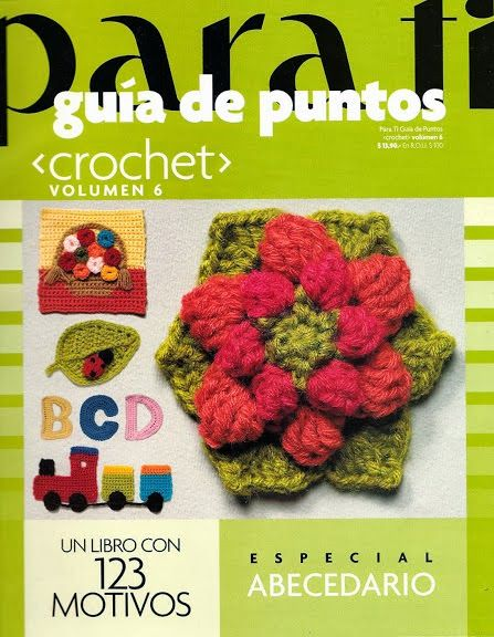 Revista Guia de puntos crochet gratis
