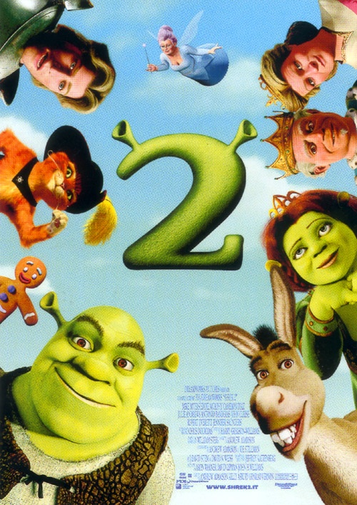 Shrek 2, in onda sabato 20 ottobre alle 21:10 su Italia 1.
