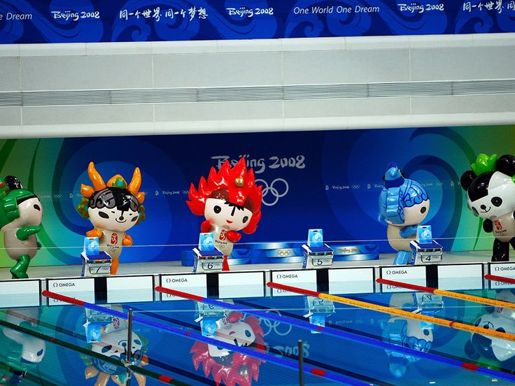 Beijing 2008 Mascots | Olympic Photo
