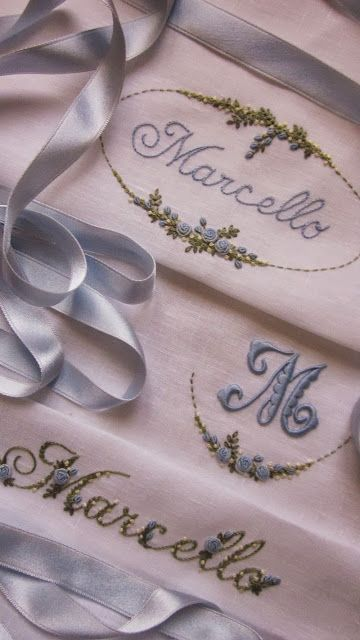 Elizabeth Hand Embroidery - as always, her embroidery is exquisite!!!