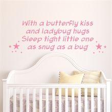 Sleep Thight Little One- Wallstickers fra NiceWall.dk