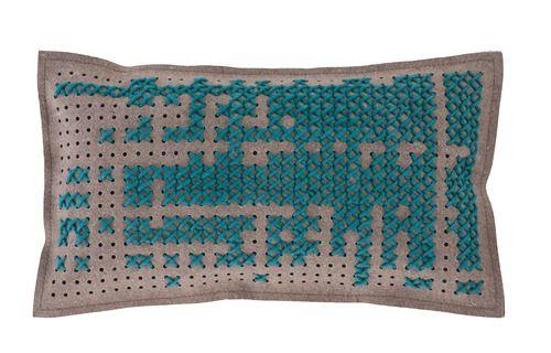 'Canevas Small Rectangular Abstract Cushion by Gandia Blasco. @2Modern'