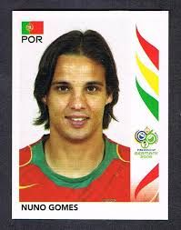Image result for germany 2006 panini portugal gomes