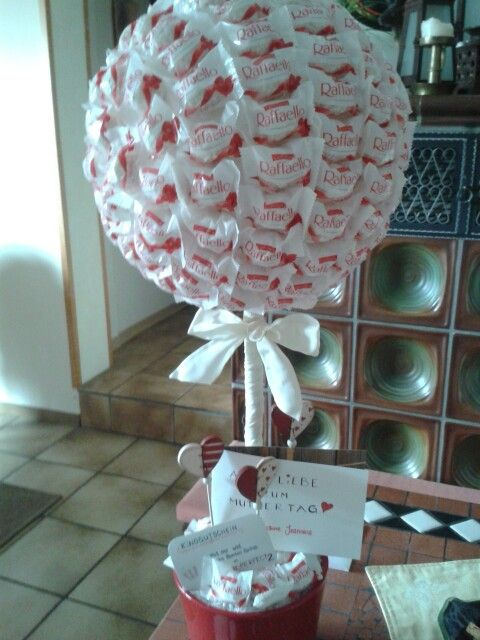 Raffaello tiny tree sweets -- gift of my dau on mothers day ♡