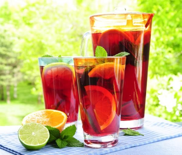 trauben limonade selber machen rezept getr nke pinterest. Black Bedroom Furniture Sets. Home Design Ideas