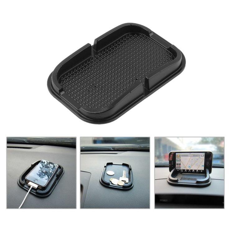 רב תכליתי גומי אנטי סליפ mat רכב לוח המחוונים non-להחליק mat קסם נעוץ pad מחזיק עבור iphone samsung טלפון נייד mp4 מחשב כף יד