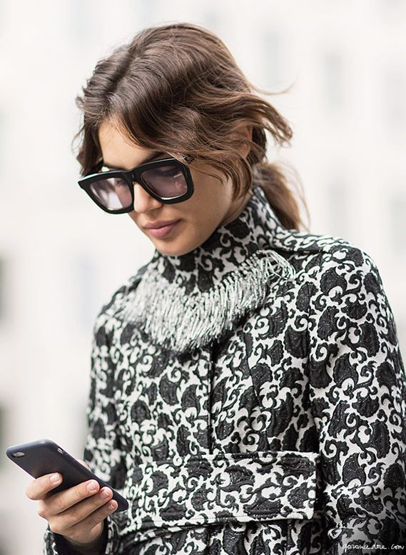 Winter Sunglasses, Karen Walker / Garance Doré