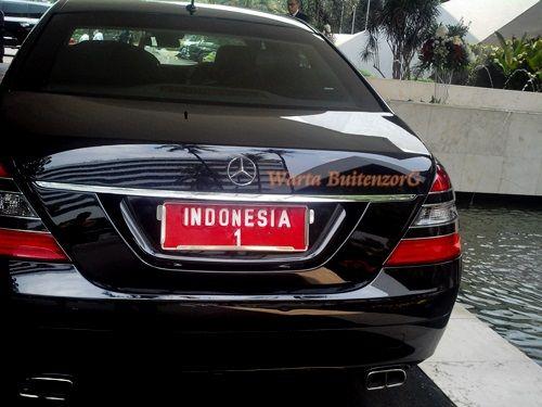 Mobil Kepresidenan RI -1 #PresidenJokowi