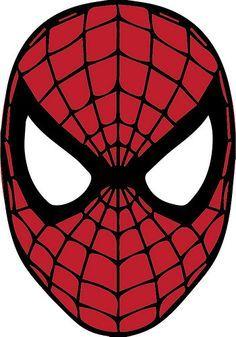 Spiderman Mask | The Craft Chop SVG