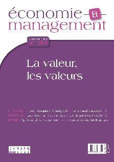 Qu'est-ce qui fait la valeur d'un bien ? Quelles sont les valeurs prônées par les entreprises ? Comment créer de la valeur ? Autant de questions auxquelles ce numéro répond en croisant les analyses d'économistes, de managers et de juristes.