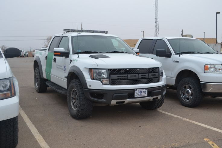 white 2012 ford raptor  SVT natiural resources vehicle