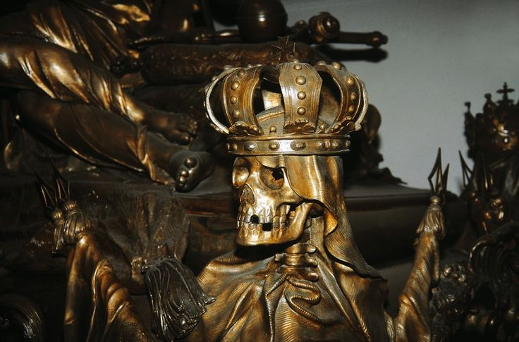The Imperial Crypt of the Hapsburg Dynasty in Vienna Austria. The Imperial Crypt is located beneath the Capuchin Church and is intended for members of Austria's former Habsburg dynasty, who have been laid to rest in the crypt since 1633. 149 Habsburgs, including 12 emperors as well as 19 empresses and queens, have their final resting place here.  WienTourismus/Willfried Gredler-Oxenbauer
