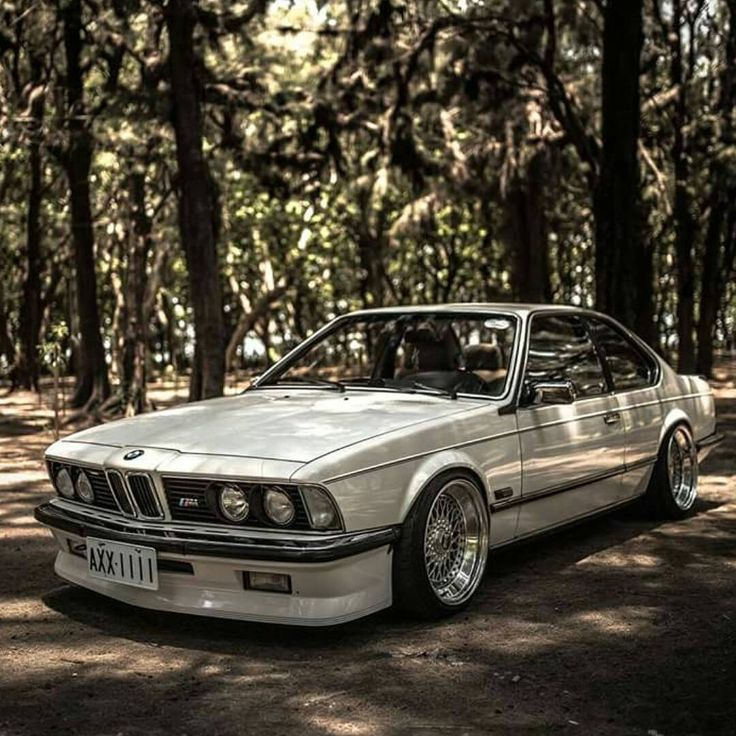 Cool Classic White BMW