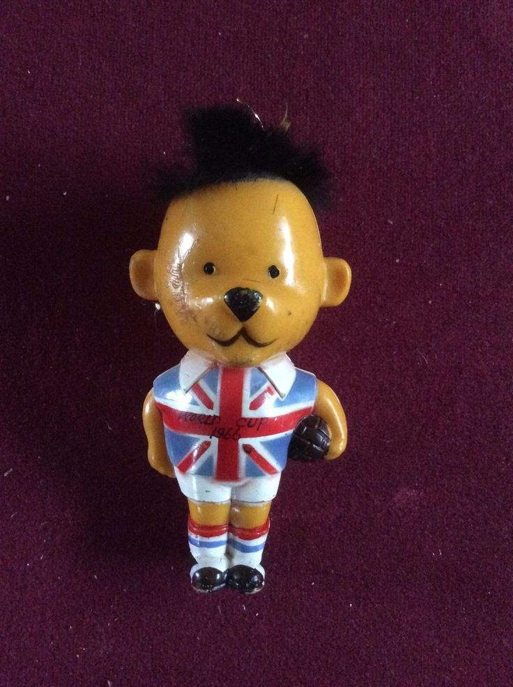 WORLD CUP 1966 WILLIE ENGLAND FOOTBALL MASCOT  i