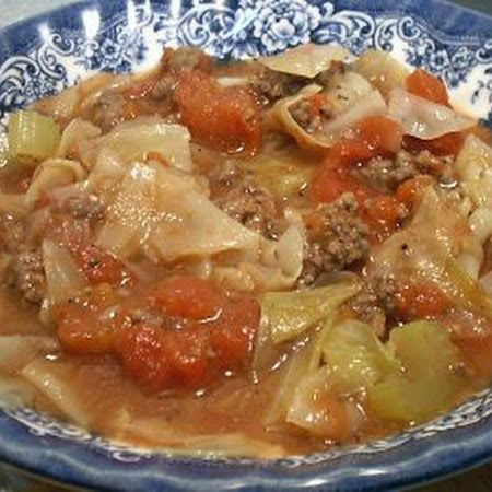 Country Cabbage Soup - Linda's Low Carb Menus & Recipes
