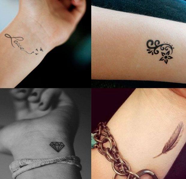 Tatuaggi piccoli polsi