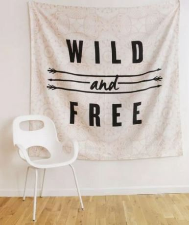 Dorm Decor by Style -- Boho Tapestry