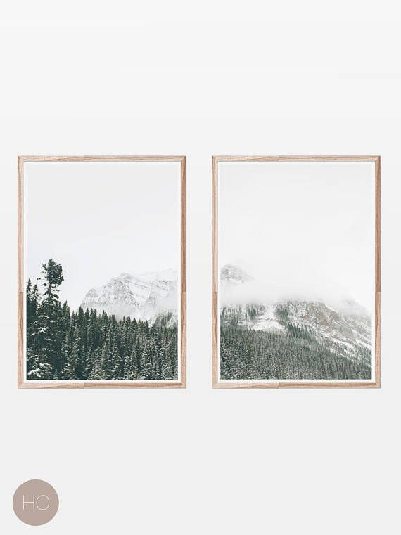 Nature Prints,Digital Download,Prints Wall Art,Forest Print,Fog ...
