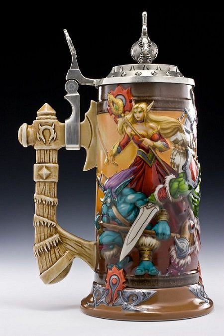 World of Warcraft Horde Stein