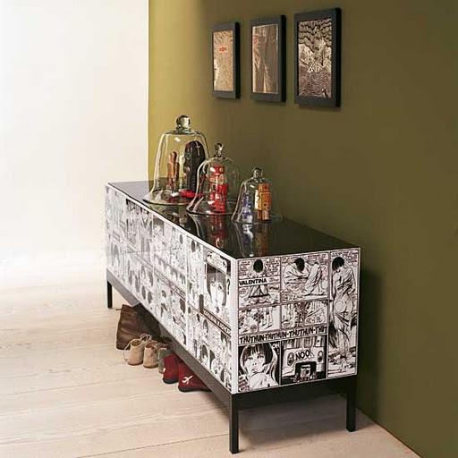 190 Best Decoupage Furniture Images On Pinterest Painted Furniture Decoupage Furniture And