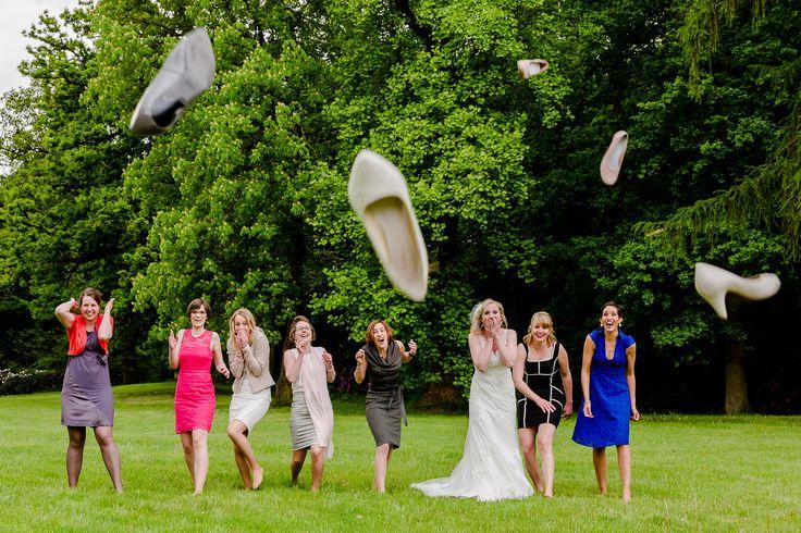 Groepsfoto | Bruidsfotografie | Bruiloft | Trouwen | Landgoed Den Alerdinck | Fotografie | Bruiloft | Bruidsfotograaf | Trouwfotografie