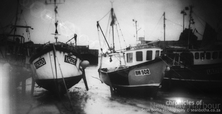 Early Years, Newquay Harbor, Pentax MZ5, By Sean Botha