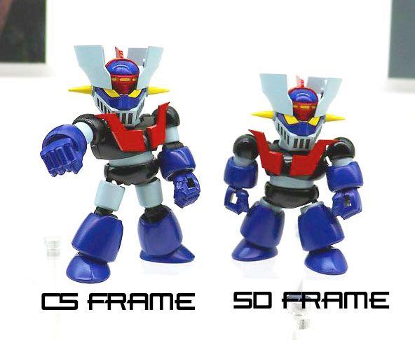 Bandai SD Cross Silhouette Great Mazinger Non-Scale Model Kit