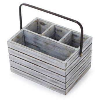 Rustic Wooden Condiment Holders Google Search Haven