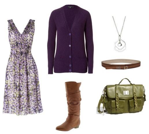 Purple/Green/Brown