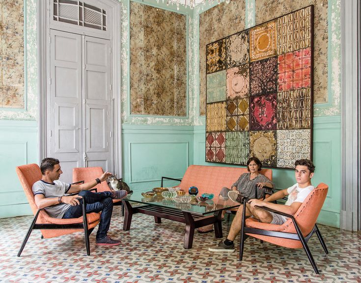 For one couple, realizing their dream house as a cultural salon in Havana has been more than a labor of love. It's been a lesson in patience, perseverance and wild invention. (Photo: Stefan Ruiz)