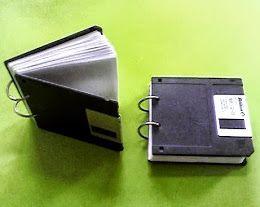 дискета, дискеты, обложка из дискет, переплет, своими руками, сделаем сами, сделай своими руками, старые дискеты, что можно сделать, что сде...