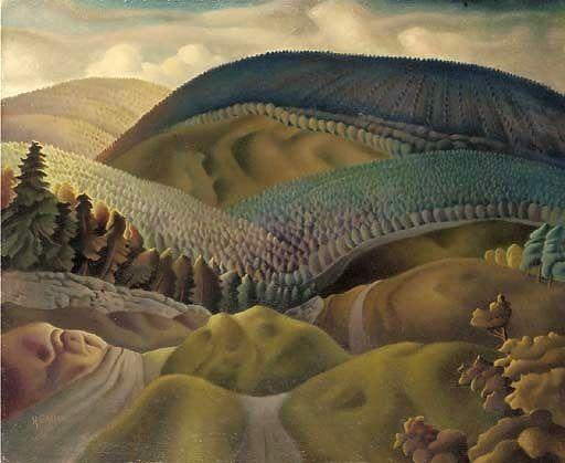 "Harry Epworth Allen (English, 1894-1958)  ""Haddon Hall Derbyshire"""